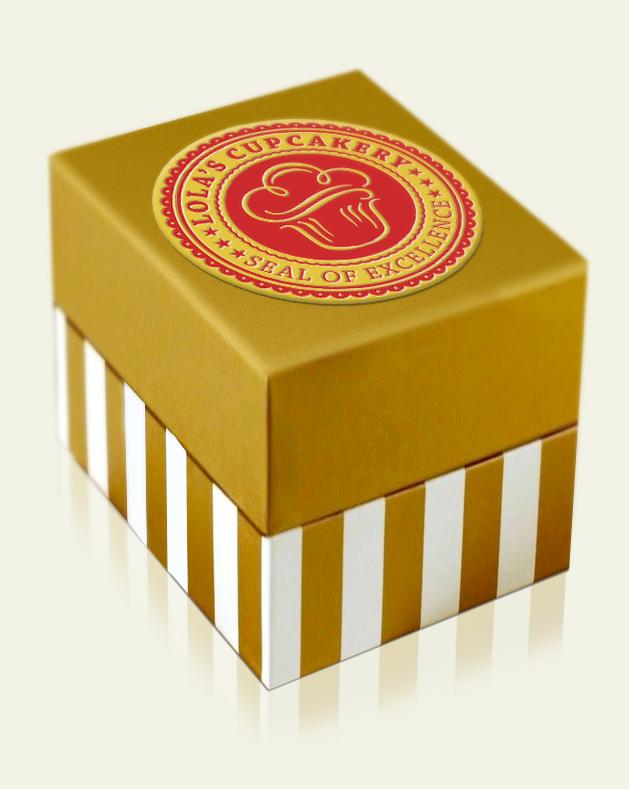 Lola's Cupcakery Cupcake Box