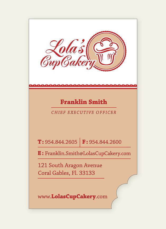 Lola's Cupcakery Identity