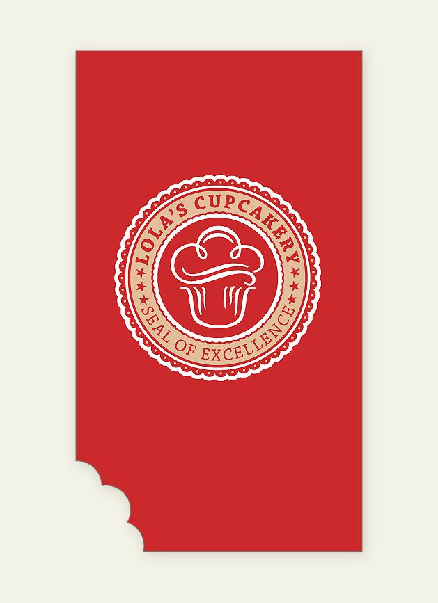 Lola's Cupcakery Business Card